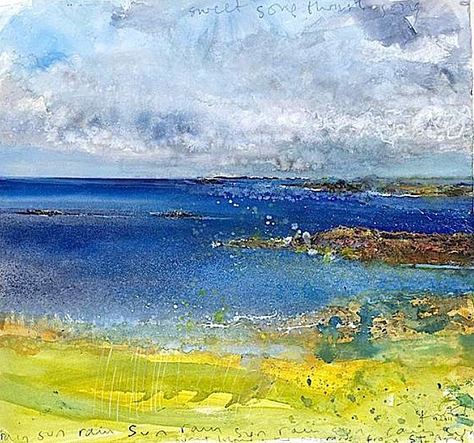 Kurt Jackson - Sweet song through song, from St Agnes