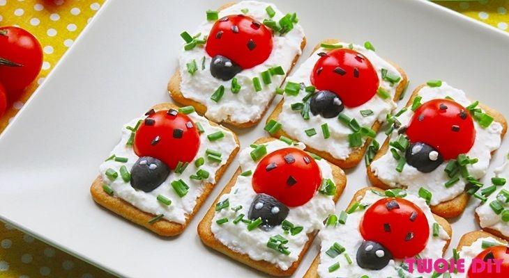 Pyszne Biedronki Twoje Diy Kids Meals Food Humor Birthday Party Food