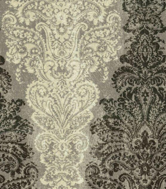 Home Decor Print Fabric-Waverly Fresco Finale Smoke, , hi-res