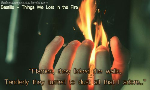 thing we lost in the fire bastille testo e traduzione