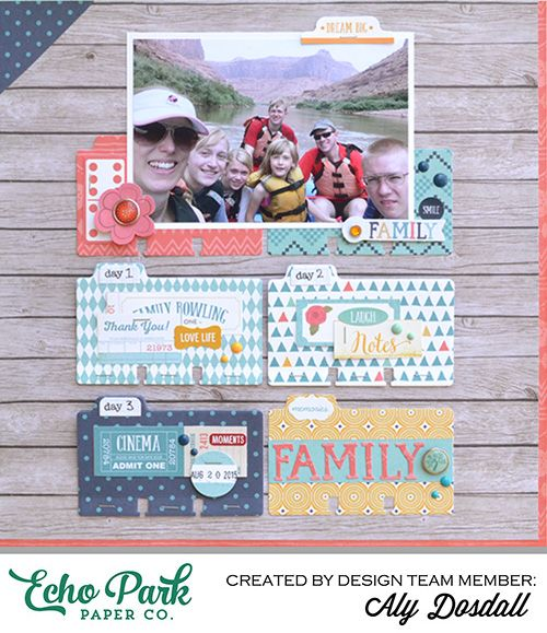 Add Hidden Photos and Journaling with the Rolodex Card Die | Echo Park Paper | Bloglovin