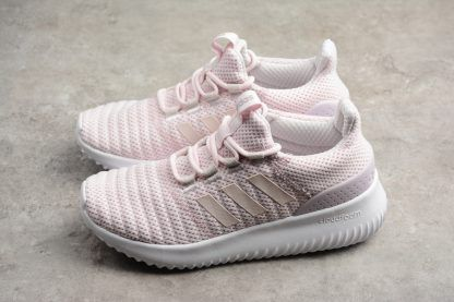sale retailer 877b9 1cafd Womens adidas Cloudfoam Ultimate Orchid Tint Aero Pink Running Shoes  DB0604-1