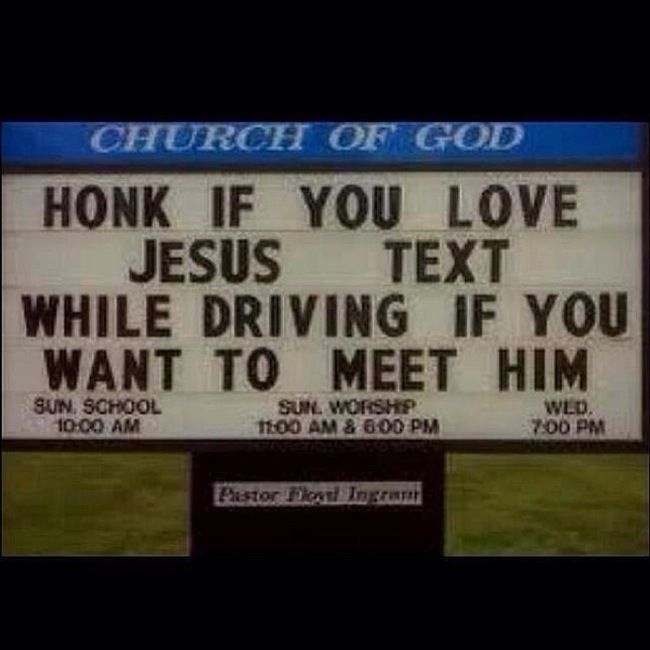 18 Church Signs That Are Absolutely Hilarious