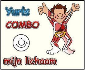 www. combo-mijn-lichaam.yurls.net Werkboekjes met allerlei materiaal náást gebruik digibord