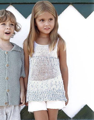 Revista Niños 81 Primavera / Verano | 9: Niños Top | Verde / Blanco