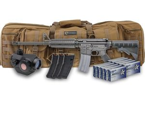 Win a Colt M4 Rifle Complete Kit: Drago Case, Magpul PMags, Truglo Optic and 500 Rounds of Independence 5.56 Ammo