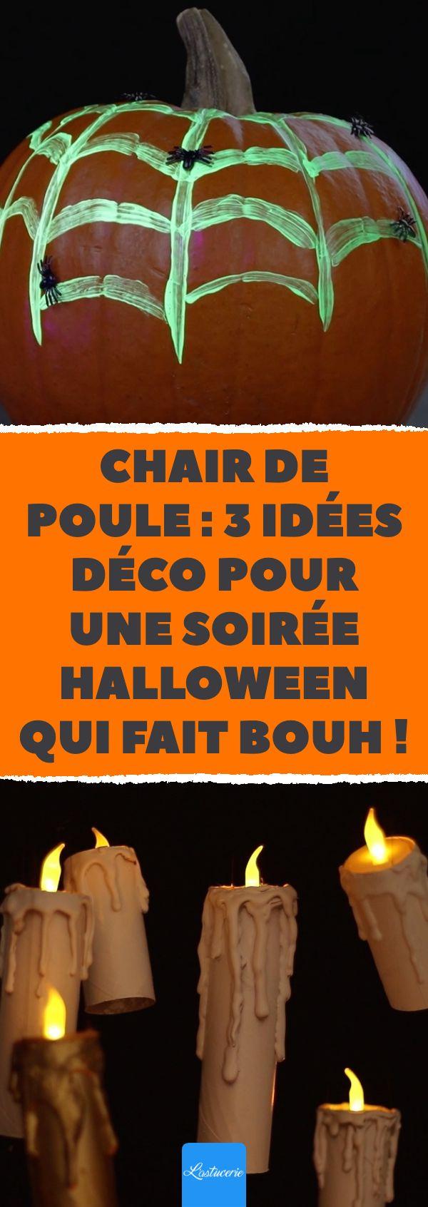 Chair de poule 3 idées déco pour une soirée Halloween