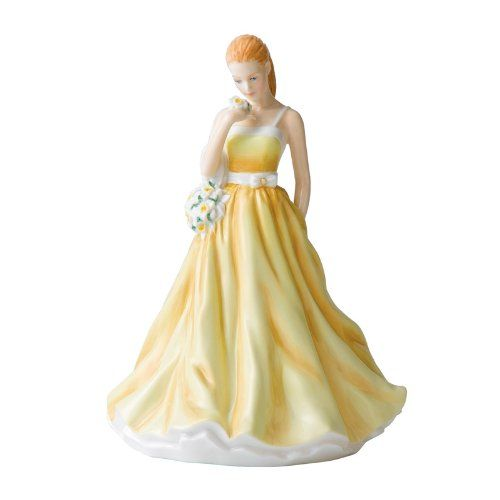 March Jonquil ~ Royal Doulton Flower of the Month Figurine