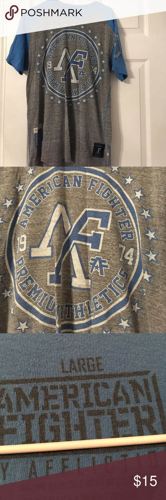 Size large American fighter tshirt American fighter size large tshirt in great condition American Fighter Shirts Tees - Short Sleeve