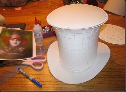 Sombrero de Copa (Como el del sombrerero de Alicia en el País de las Maravillas)