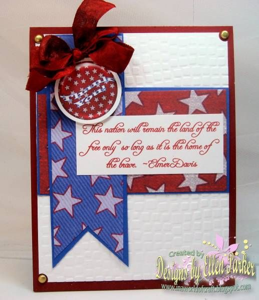 memorial day card ideas