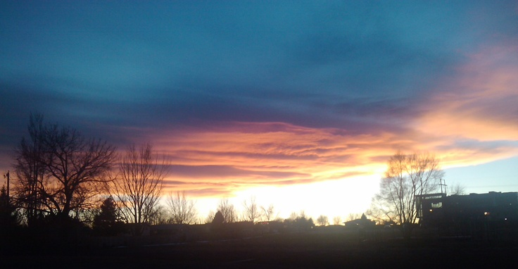 Sunset in Greeley . . .: Favorite Places, Nature Photography, Random Stuff