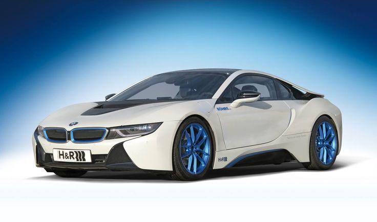 BMW i8 proyecto H&R