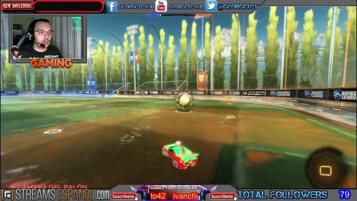Rocket League LIVE Español @georgexcv #Streams #juegos #twitch #GAMEPLAY...