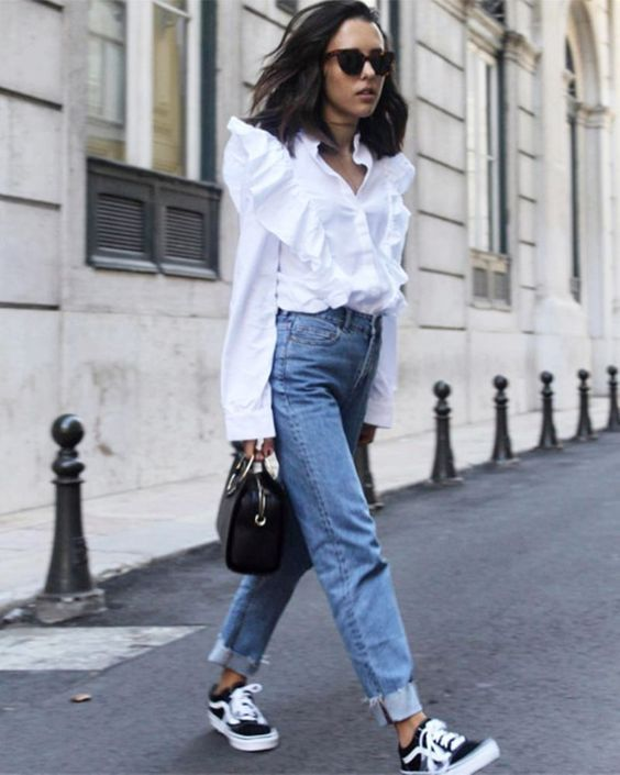 Inspired by the runways of Zimmerman and Marant, affordable brands are embracing the Victoriana trend with a crop of ruffled blouses popping up on the high street. Leave subtlety at the door – statement is the only way to work this look: crisp shirting with exaggerated frills will add drama to even the most polished of edits.