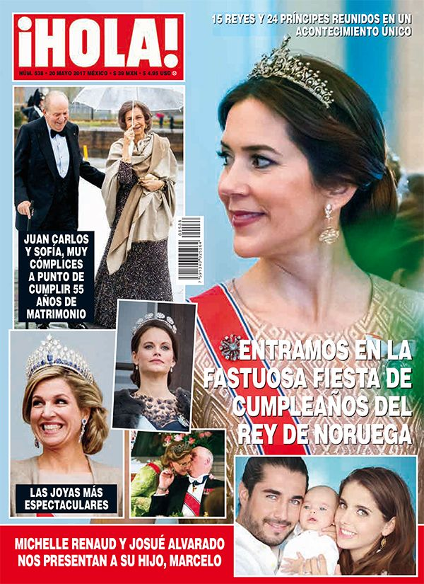 ¡Hola! Mexico, No. 538, May 2017 #PrincessMary #WorldRoyals https://www.instagram.com/hola_mx/