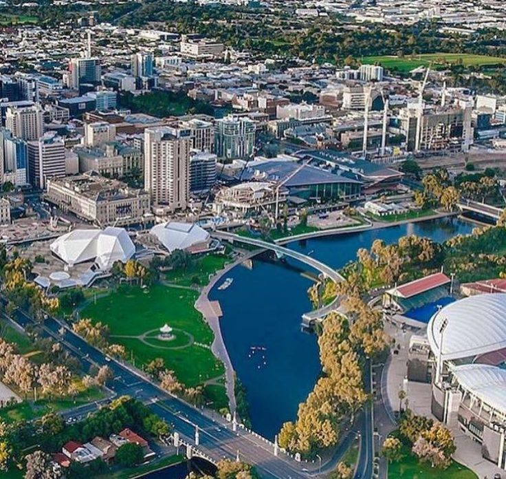 The City Of Adelaide South Australia Looking Excellent