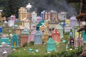 Chichicastenango Cemetery in Chichicastenango Guatemala