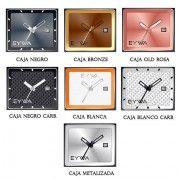 dirverte cambiar cajas intercambiables colores para todos los gustos http://relojesdemadera-eywa.es/producto/bambu-con-placa-blanco/ … #EYWARELOJES