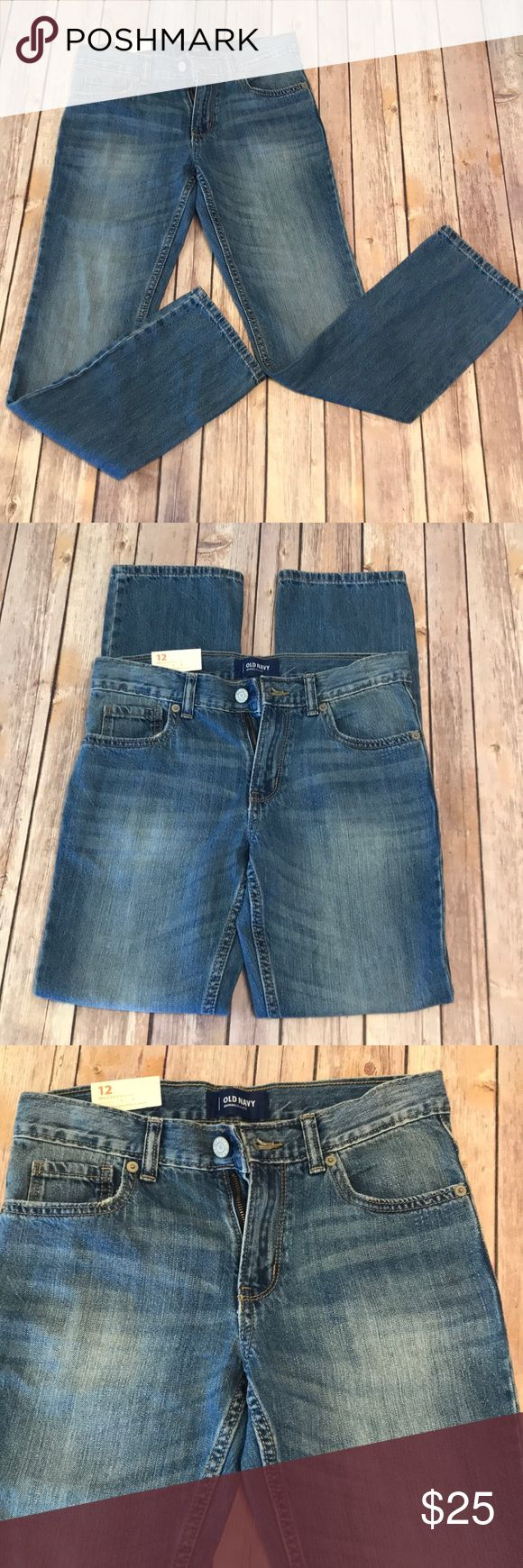 """NWT old navy skinny jeans New with tags!! Old navy skinny jeans size 12! In perfect condition! 10/10!   Waist is about 14.5"""" Inseam is about 27.5"""" Old Navy Jeans Skinny"""