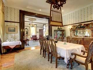 On The Market: Louisiana, Missouri : Architectural Digest. A Formal Dining  Room With An Authentic Punkah Fan. Part 79