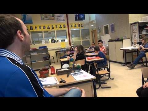 Meester Koen daagt zijn leerlingen uit: 'Let the Twittergames begin!' #smiho via @Lisa Pulling Etkind