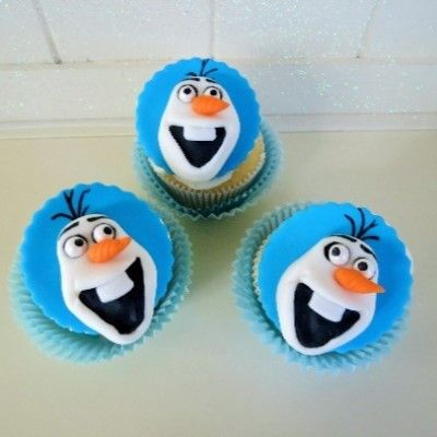 Do you want to build a snowman? On top of a cupcake!? Well of course you do! So check out this recipe and start baking!