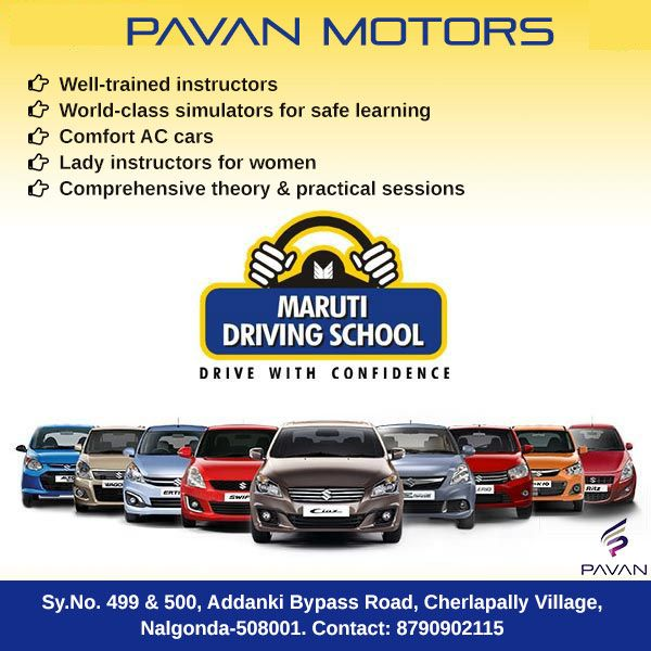 Drive With Confidence Maruti Driving School Address Sy No 499