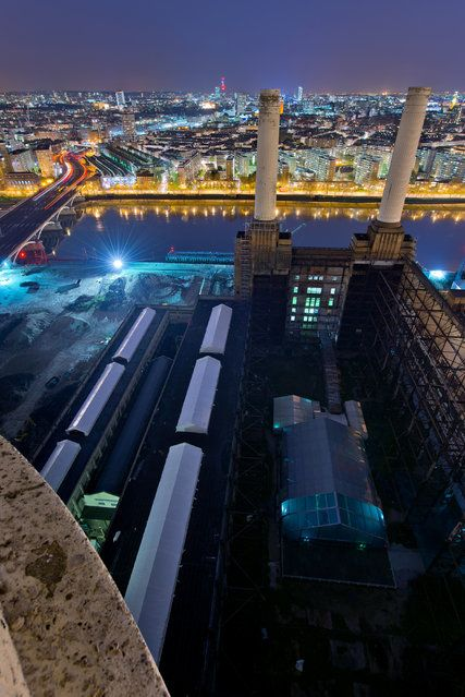 Battersea Power Station | London From The Rooftops #piclectica