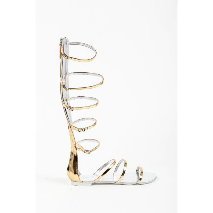 Giuseppe Zanotti Womens Gladiator Sandal E60201 RAMINO