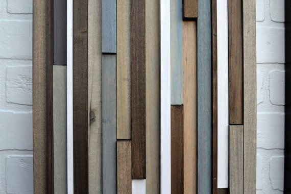 Wood Sculpture Wall Art  Lines  12x36 Set  by moderntextures, $525.00