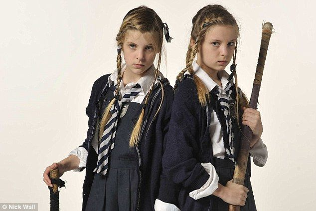 The St Trinian's tribes: The characters in the new film are based on real-life schoolgirls - so are any YOUR daughter? | Mail Online