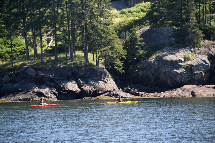 Kayaking Penobscot Bay in Maine... is where I want to be.   Maine's National Parks