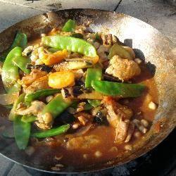 Kurczak po marokańsku z kaszką kuskus @ allrecipes.pl