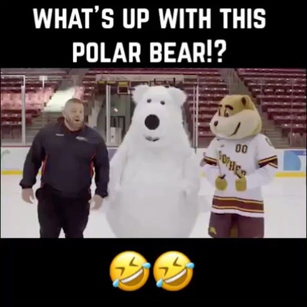 This is too funny  #funny #tgif #friday #ice #hockey #tv #slip #fall #dying #commercial #gopher #MN