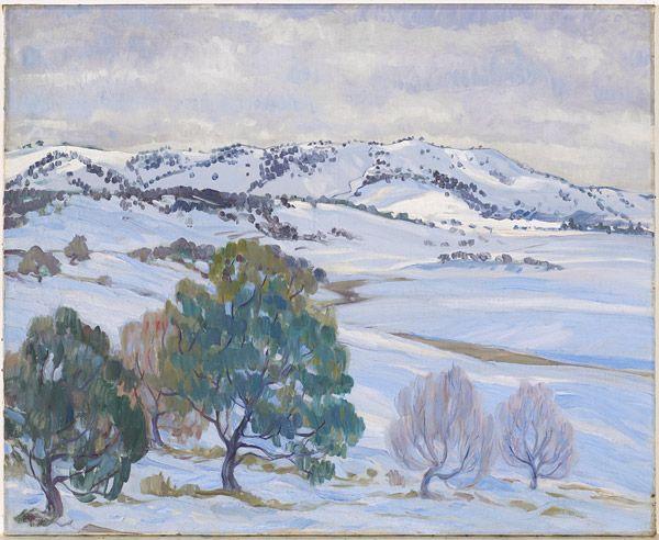 Hilda RIX NICHOLAS, Snow, Tombong Ranges