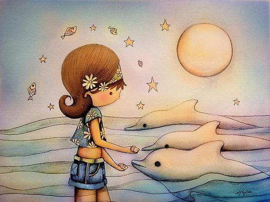 Dolphin Paradise Tangalooma, by Karin Taylor.