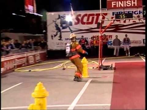 Firefighter Combat Challenge World Challenge XIII Relay Championships my son hopes to become a firefighter and if so may participate in this.