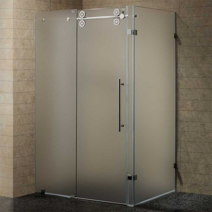 11 best images about shower doors on pinterest frosted for Frosted glass window bathroom