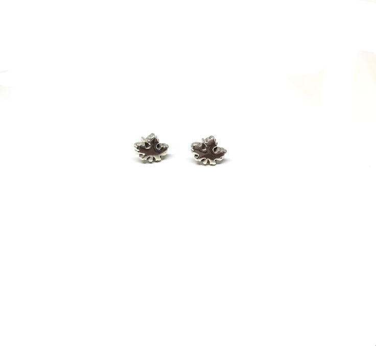 Skarsten Maple Leaf Studs - Celebrate your roots & strut your 'Canadian stuff' with these super sweet original maple leaf studs. With Canada celebrating150th years in 2017, these earrings come at the perfect time to express your love of everything Canadian.