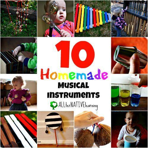 Homemade Musical Instruments - ALLterNATIVElearning