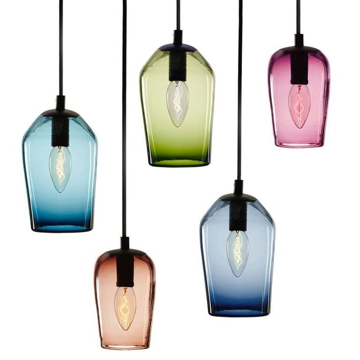 -------VINO----- Hand blown glass fitting inspired by the form of an inverted wine glass.