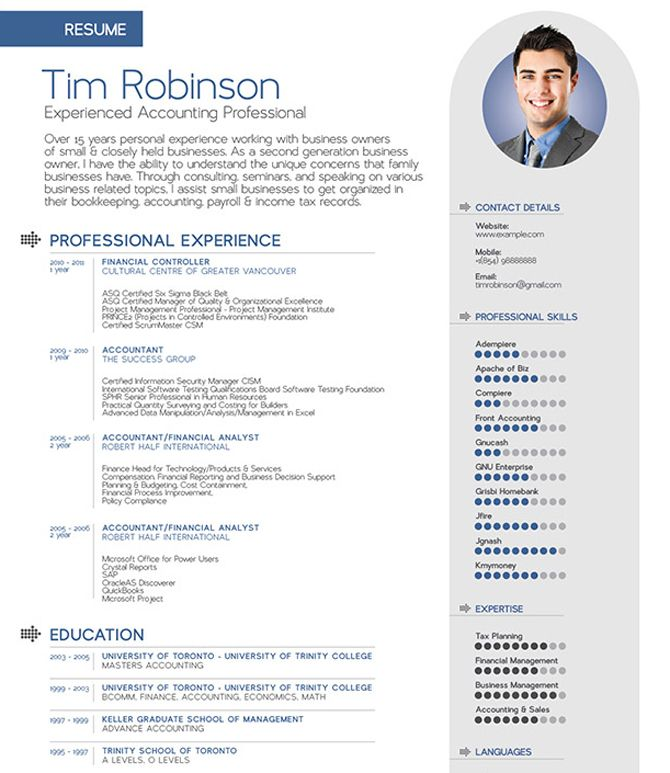 40 best free resume templates 2017 psd ai doc - Free Resume Builder And Print