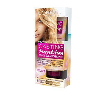 casting sunkiss gele eclaircissante - Coloration Eclaircissante Blond