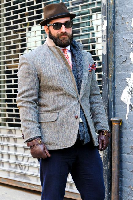 The phrases for plus size mens fashion are terrible.  Lets just say that this guy looks quite nice and leave it at that.