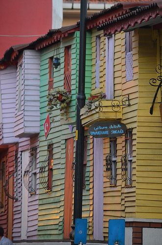 Colors on Istanbul