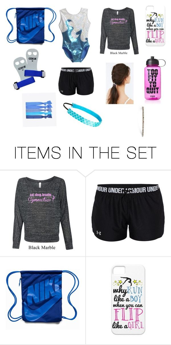 """gymnastics practice outfit"" by heavenlycristal on Polyvore featuring art"
