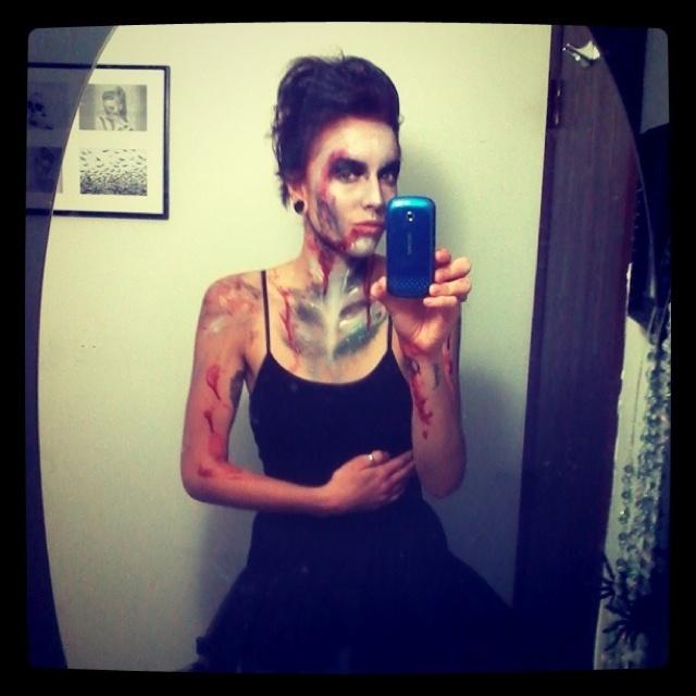 zombie ballerina costume halloweenhalloween - Dead Ballerina Halloween Costume