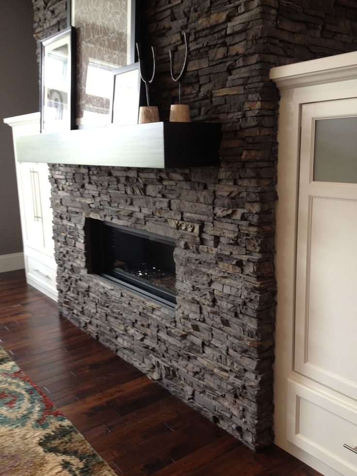 33 best images about linear fireplace on pinterest for Fireplace no mantle