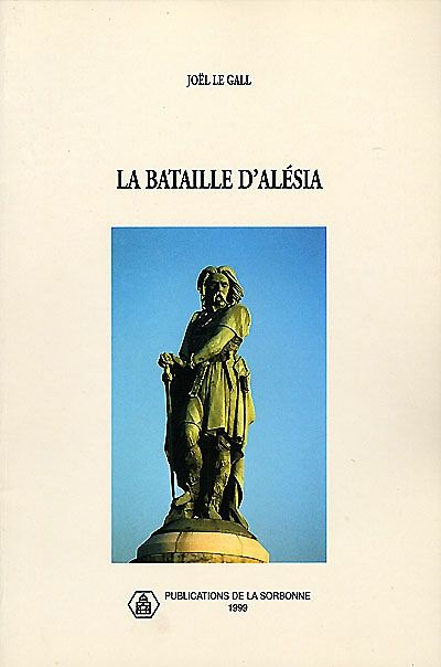 """944.012 2 LEG - La bataille d'Alésia / J. Le Gall ; A. Chastagnol. """"Il s'agit ici d'un essai de reconstitution raisonnée sur la campagne menée par César en 52 av. J.-C. L'auteur fonde son enquête sur la conviction, largement étayée, qu'Alise-Sainte-Reine est bien l'Alésia de la victoire césarienne. """""""